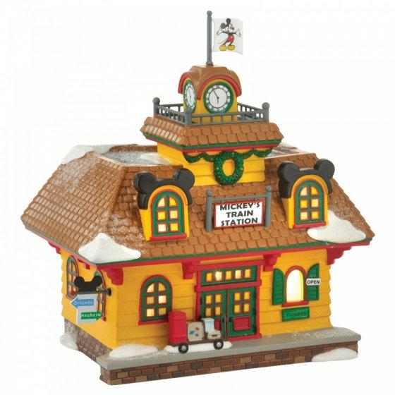 Mickey's Holiday Train Station - EU Version