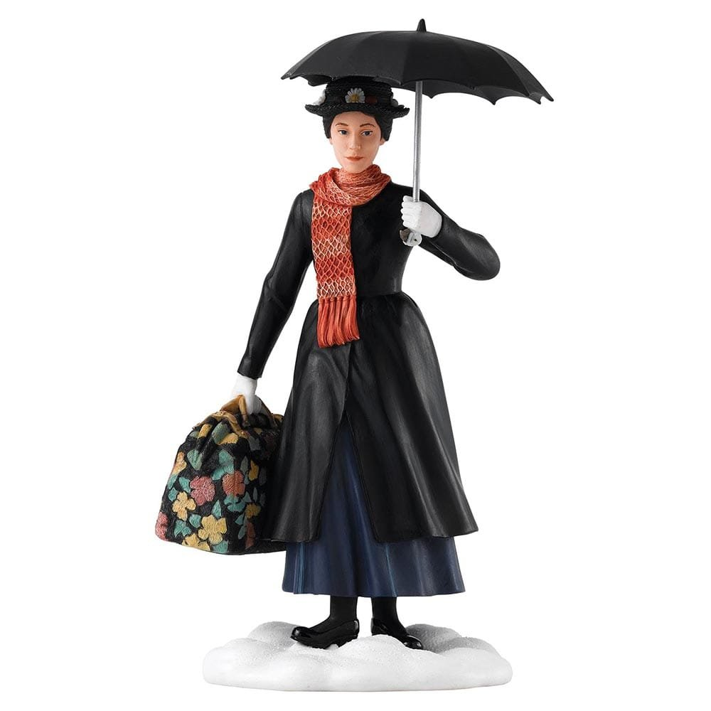 Practically perfect mary poppins figurine on hand clip art