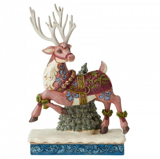 Aventure Bound (Victorian Standing Reindeer Figurine)
