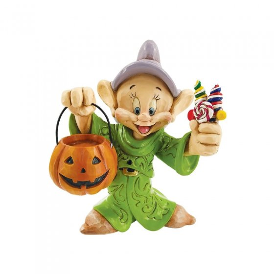 Cheerful Candy Collector - Dopey Trick-or-Treating Figurine