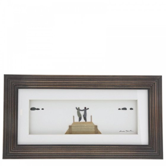 Anywhere with You Framed Picture 20cm x 38cm