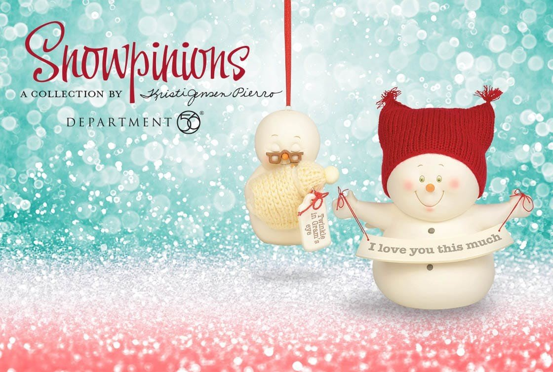 Snowpinions by D56