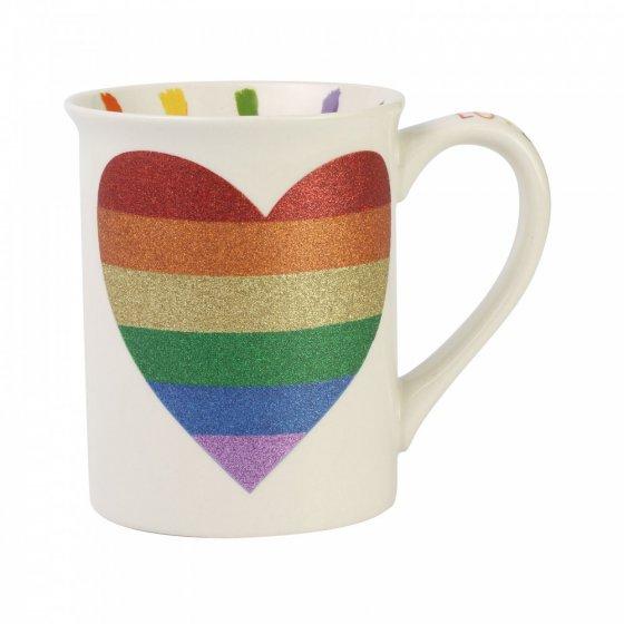 For You Rainbow Mug