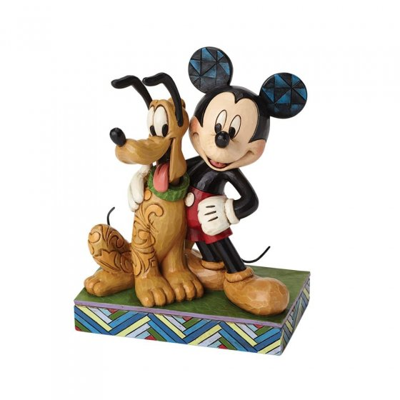 Best Pals - Mickey Mouse & Pluto Figurine