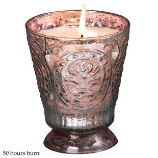 Fleur De Lys Silver-Pink (Peony)