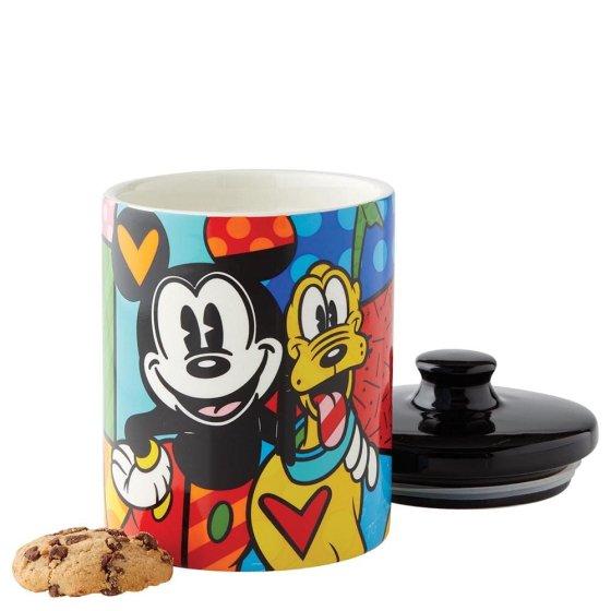 Mickey & Pluto Cookie Jar Small