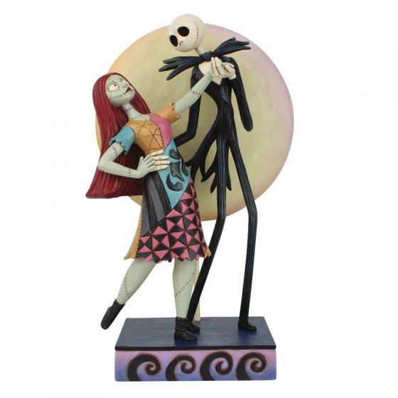 A moonlit Dance - Jack and Sally Romance Figurine