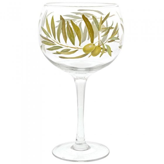 Olive Plant Gin Copa Glass