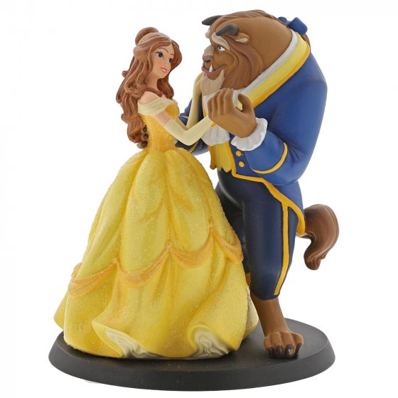 Belle Wedding Cake Topper