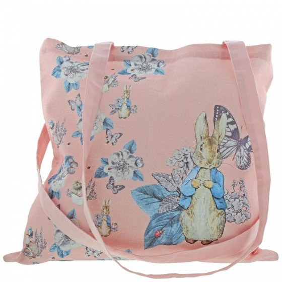 Peter Rabbit Garden Party Tote Bag (Pink)