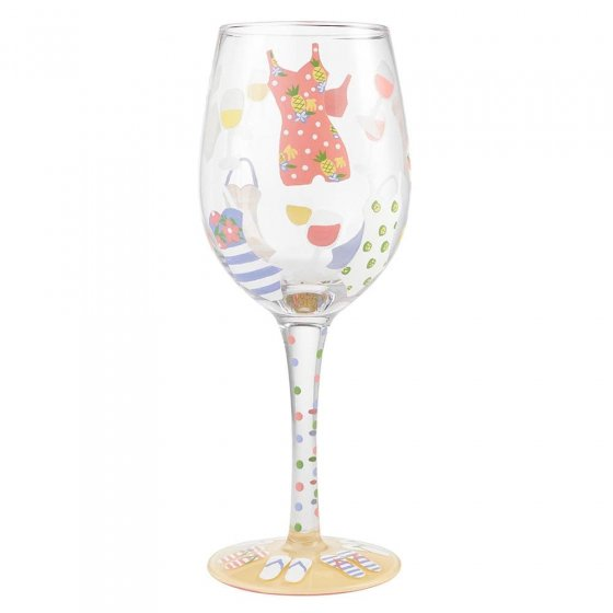 Cabana Cutie Wine Glass