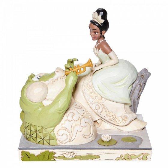Bayou Beauty  - White Woodland Tiana Figurine) -