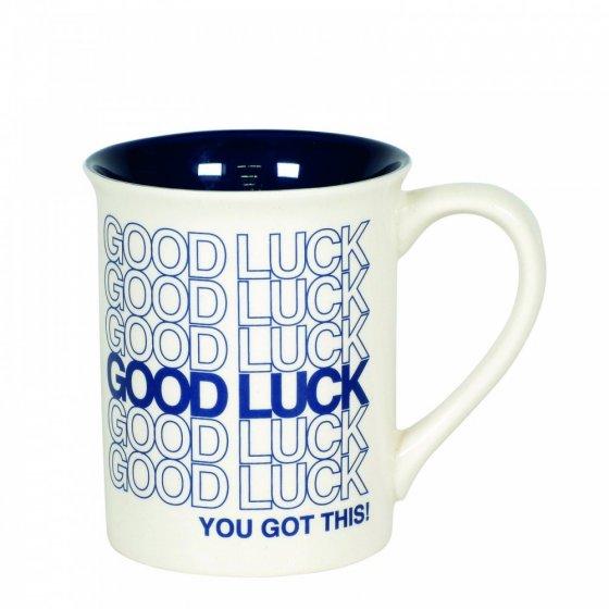 Good Luck Type Mug