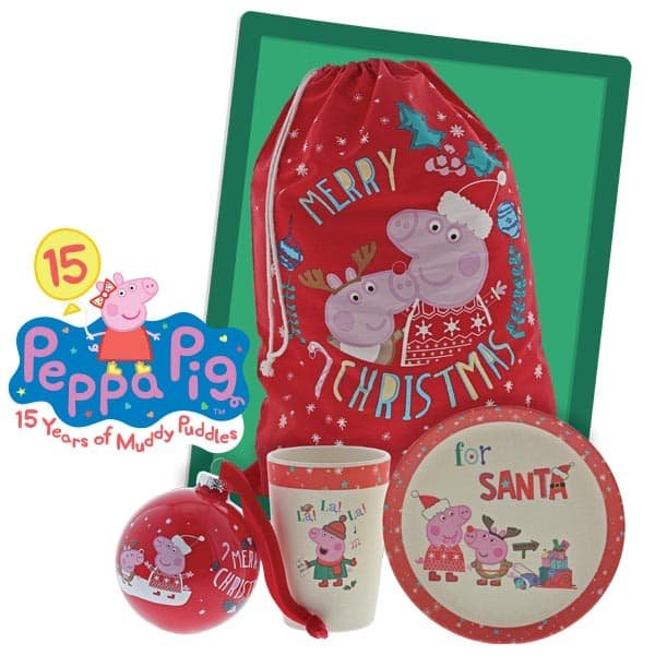 OINKtastic festive fun! Enesco launches Peppa Pig Christmas collection!
