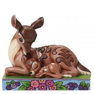 Sleep Tight Young Prince (Bambi with Mother Figurine)