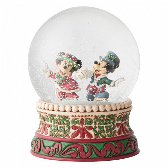 Splendid Skaters (Victorian Mickey and Minnie Mouse Waterbal