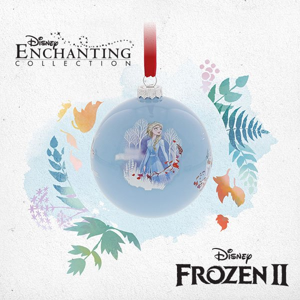 Seek the Truth Enesco launches new Disney Frozen bauble ahead of sequel movie release