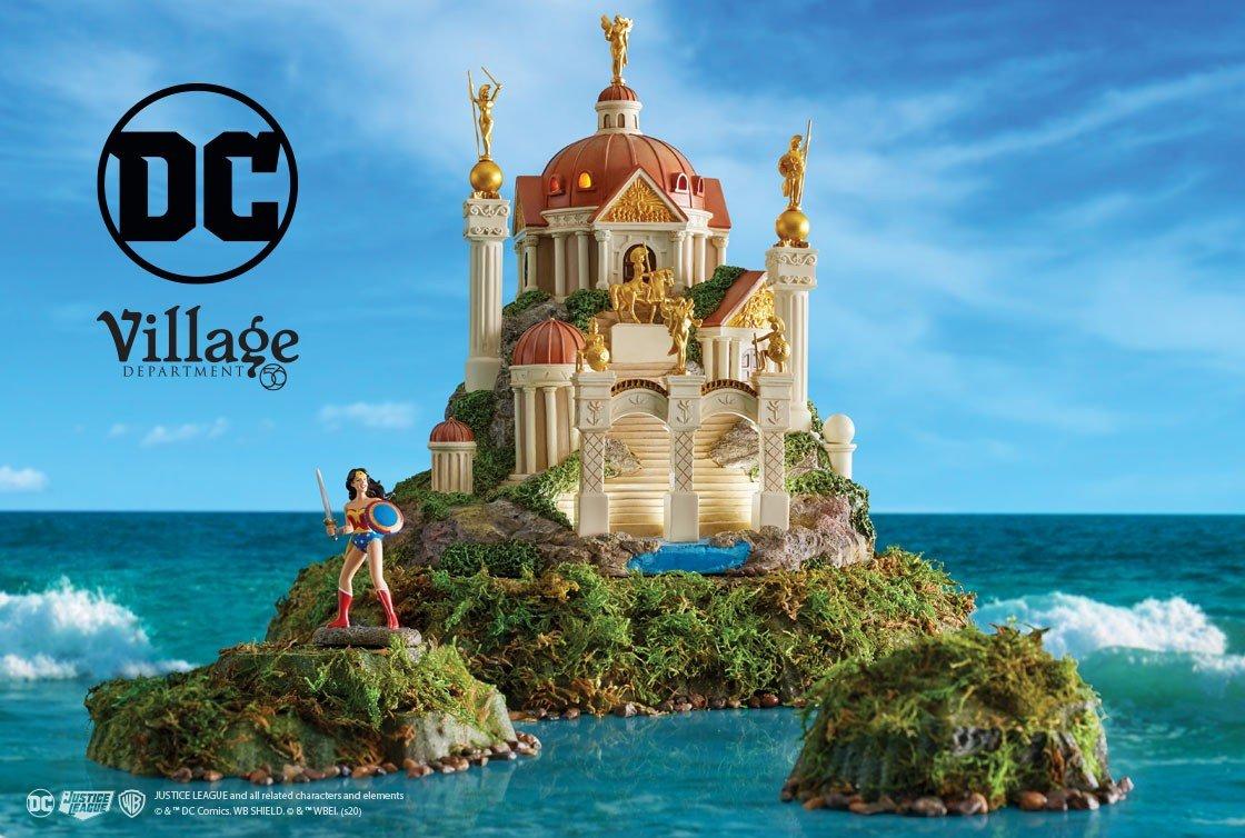 DC Comics Village by D56