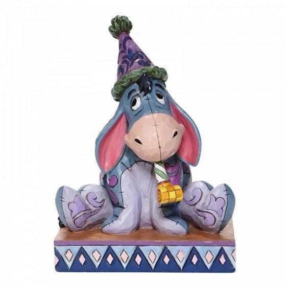 Birthday Blues - Eeyore with Birthday Hat Figurine