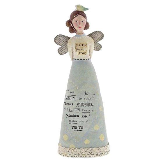 Faith Over Fear Angel Figure
