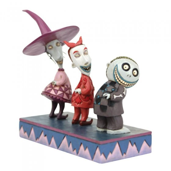 Up to No Good - Lock, Shock and Barrel Figurine