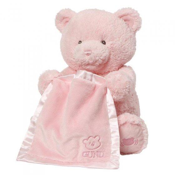 My First Teddy Peek A Boo Pink