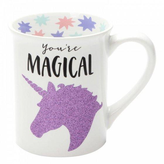 Magical Unicorn Glitter Mug