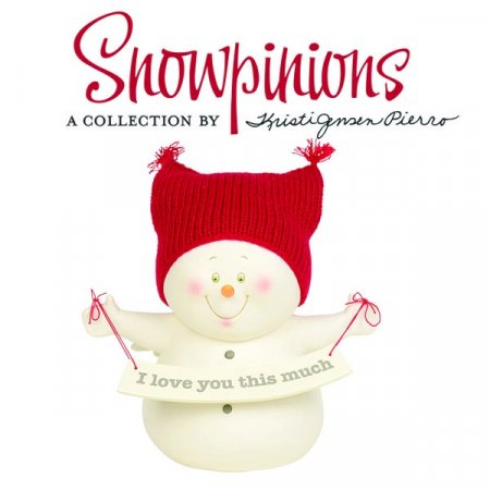 New from the creator of Snowbabies, Enesco unveils new Snowpinions collection