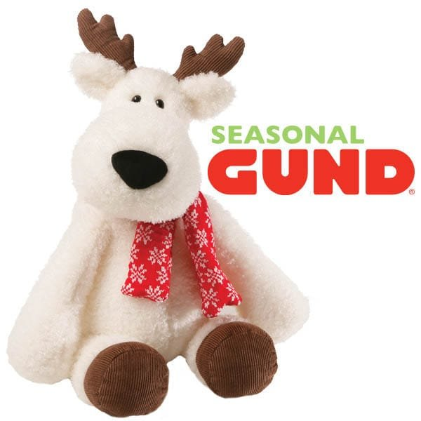 Snowy-soft festive friends revealed by GUND® in time for Christmas