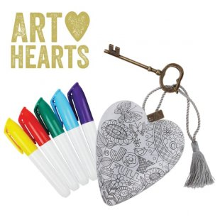 Get Creative…with New Art Hearts to Personalise