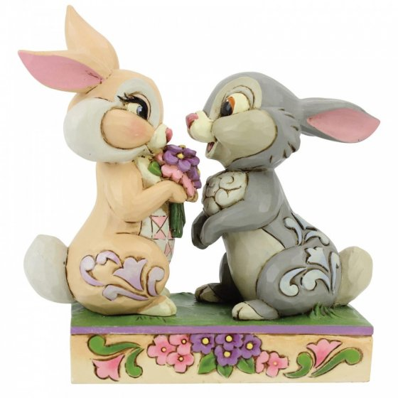 Bunny Bouquet (Thumper and Blossom Figurine)