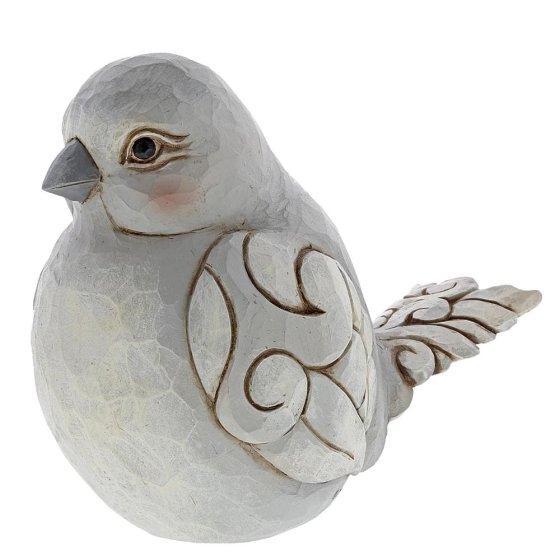Charming Chirper (Grey Bird Figurine)