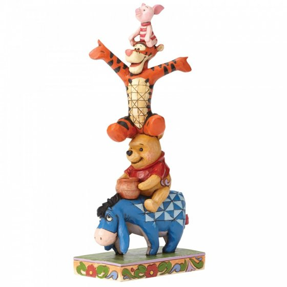 Built By Friendship (Eeyore, Pooh, Tigger and Piglet Figurin