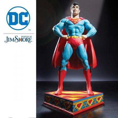 Enesco unveils a new collection of figurines from acclaimed artist, Jim Shore, in collaboration with Warner Bros. Consumer Products and DC