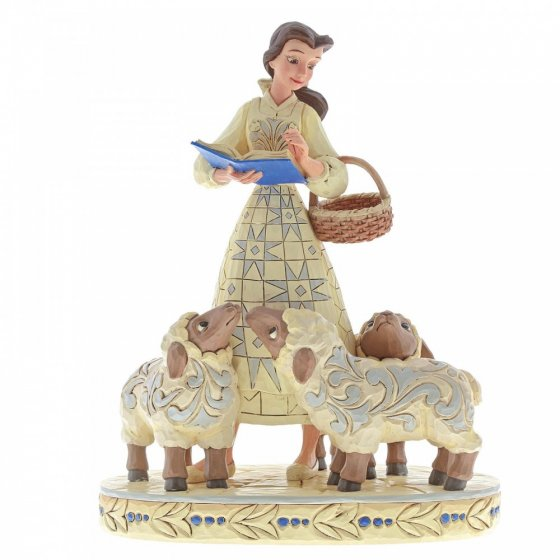 Bookish Beauty (Belle with Sheep Figurine)