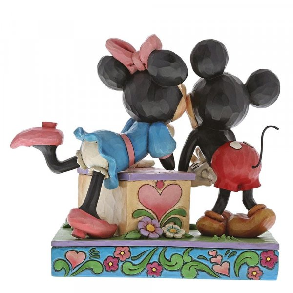 Kissing Booth (Mickey Mouse & Minnie Mouse Figurine) : Enesco