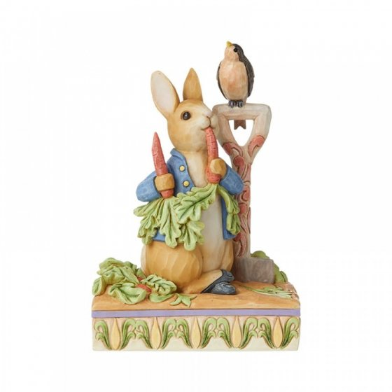 Then he ate some radishes (Peter Rabbit Figurine)