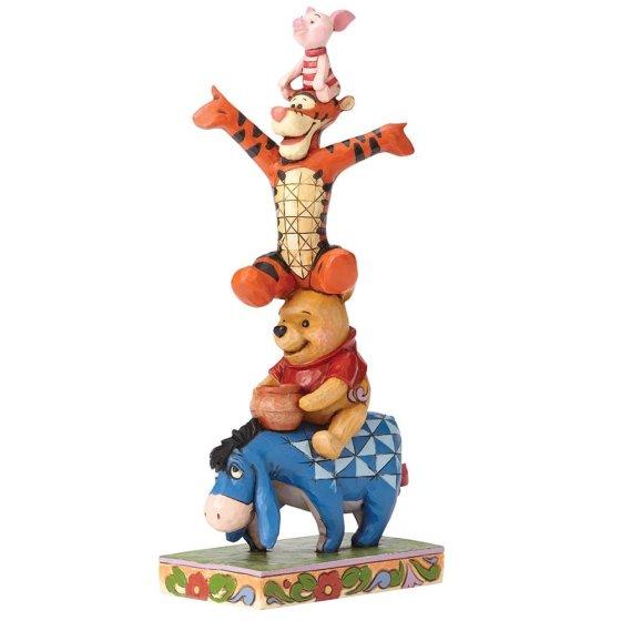 Built By Friendship (Eeyore, Pooh, Tigger & Piglet Figurine)