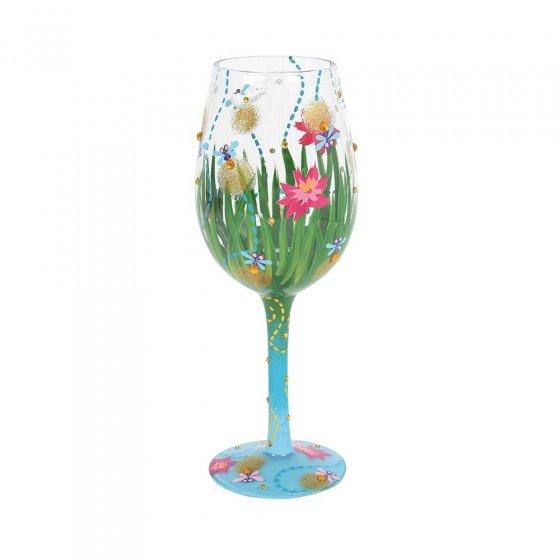 Firefly Wine Glass by Lolita