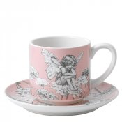 Candytuft Cup & Saucer
