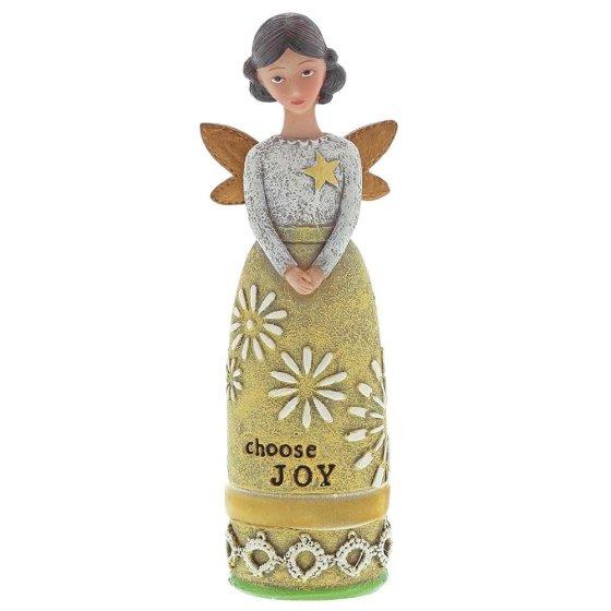 Choose Joy Winged Inspiration Angel Figure