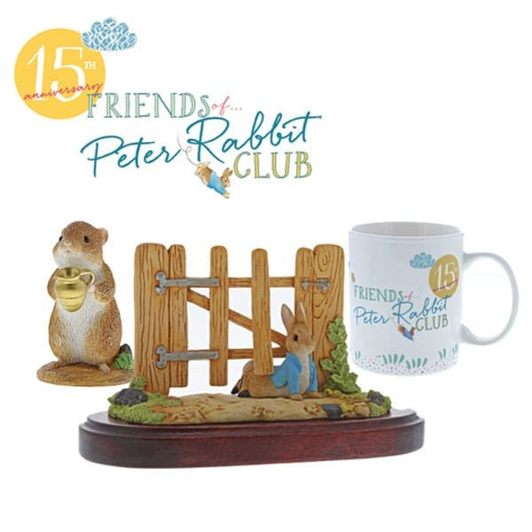 Hip-hip hurray and happy birthday to the Friends of Peter Rabbit Club!