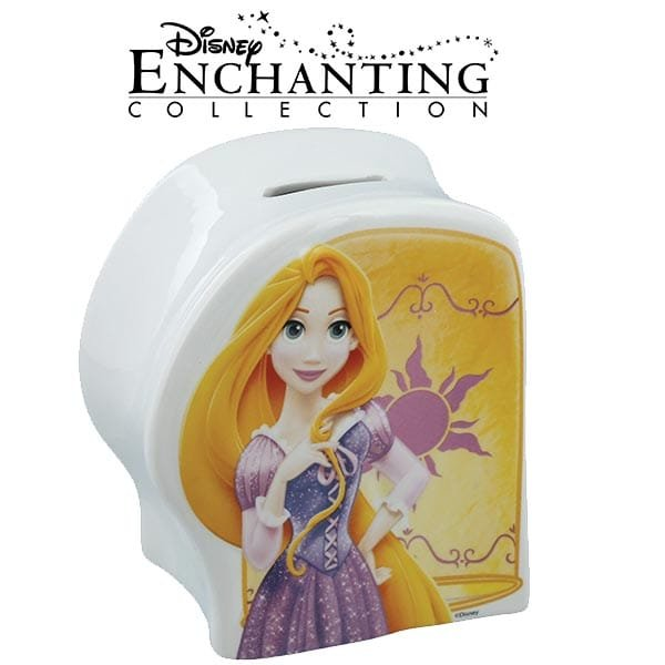 Enesco debuts Rapunzel money bank as part of new additions to its Enchanting Disney Collection