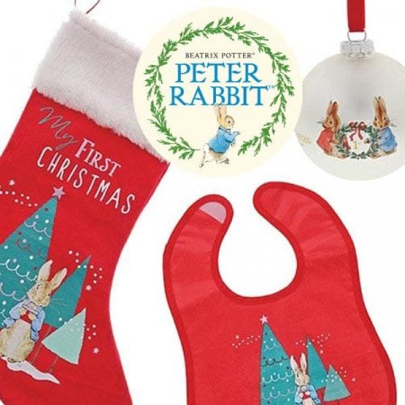 Enesco launches 'My first Christmas' Peter Rabbit™ items into its popular Winter Collection