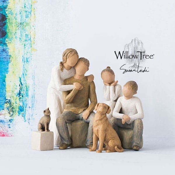 Enesco completes the family picture as it announces  New Pet Figurines from Willow Tree®