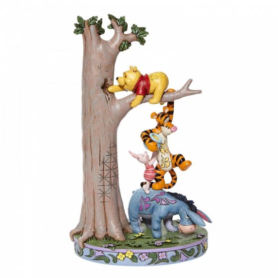 Hundred Acre Caper - Tree with Pooh and Friends Figurine