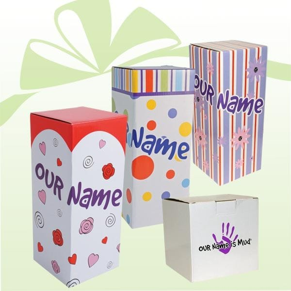 Our Name is Mud Gift Packaging