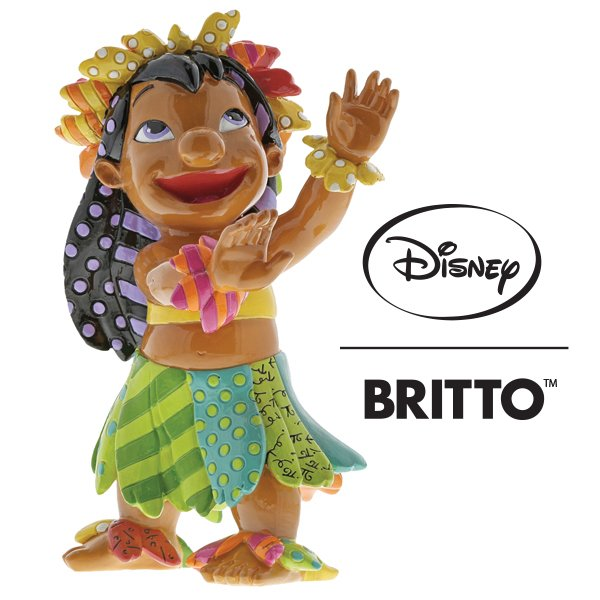 Enesco launches new Lilo and Stitch themed figurine in its  Disney Britto Collection