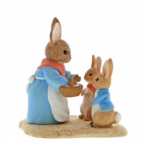 Mrs. Rabbit, Flopsy & Peter Rabbit