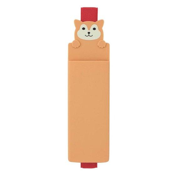 Dog Book Band Pen Case